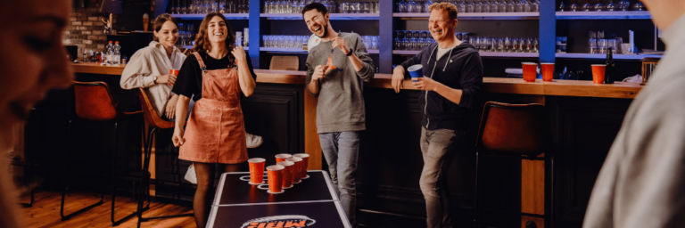 Fear Pong: Angst + Beerpong?