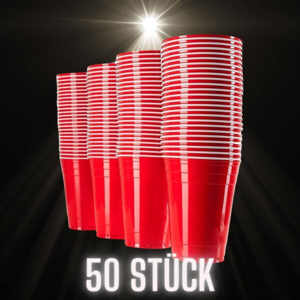 50 Red Cups MyBeerPong